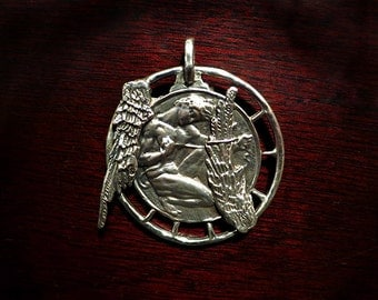 Sterling Silver Icarus Pendant