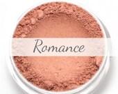 "Mineral Blush Sample - ""Romance"" (medium rosy pink, matte finish) - Vegan"