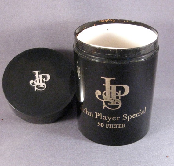 john players special 50 filter cigarette box 1970s lidded. Black Bedroom Furniture Sets. Home Design Ideas