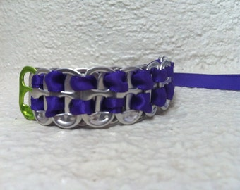 Pop tab bracelet with Ribbon