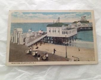 Heinz Ocean Pier Atlantic City Postcard