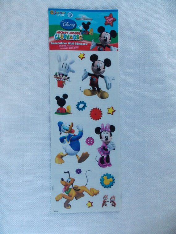 mickey mouse clubhouse wall stickers by cheshirecatmad on etsy mickey mouse clubhouse wall decals pictures wall decor
