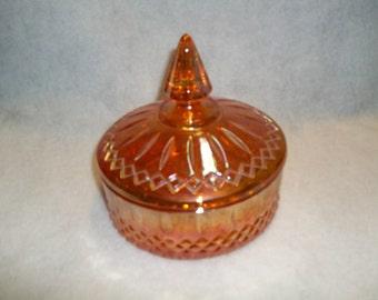 Orange Carnival Candy Dish