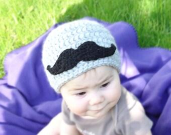 Baby Mustache Hat