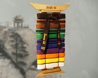 Nell wooden: Guide to Get Woodworking plans martial arts belt rack