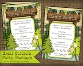 Great Outdoors Birthday Party Package