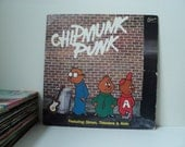 Chipmunk Punk - Vintage Vinyl LP - 1980