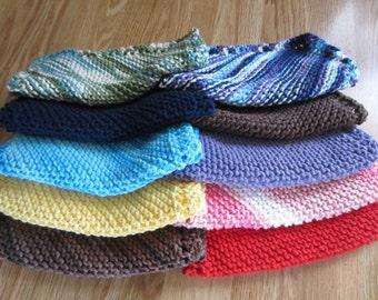 Knit Dishcloth 3-Pack