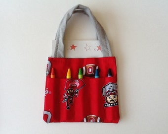Ohio State Children's Crayon Bag and Customized Paper, Party Favor