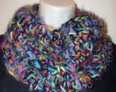 Custom order for Brittany Cherry - Multi-colored Cowl