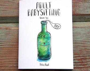 COMIC // Adult Babysitting / Volume II