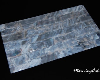 White Freshwater Shell Veneer Sheet (MOP Mother of Pearl Overlay Inlay Luthier)