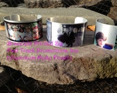 Custom Printed Photo Cuff Bracelet