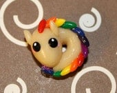 Kawaii Glow in the Dark Rainbow Dragon Charm