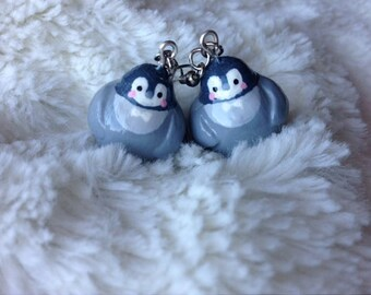 Baby Penguin Earrings