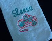 Personalized workout towel - sports towel - spirit towel