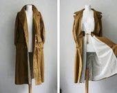 Vintage coat jacket 80s 90s East West Germany ochre mustard yellow Spring 2014 Trench Berlin Style