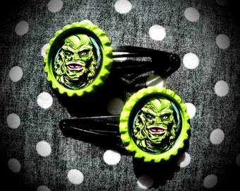 Creature Feature hair clips