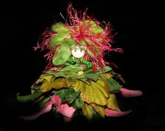 Samara the Flower Petal Faerie, Fairy, OOAK