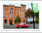 "The Bozeman Series: ""Cruisin' by the Bozeman"" Photographic Print - Downtown Bozeman, Montana"