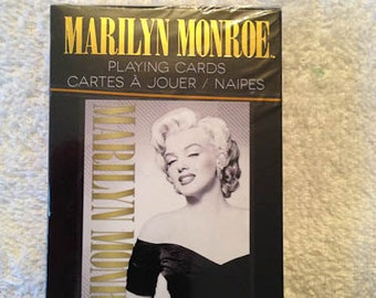 Marilyn Monroe Playing Cards One Deck Vintage Retro Never Used Seven Year Itch