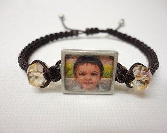Custom made picture bracelet