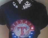 Texas Rangers Bling Shirt