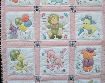 Vintage Baby Quilt