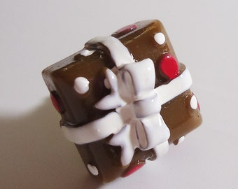 Chocolate Gift Earphone plug. Handmade