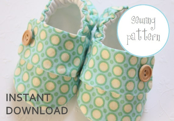Baby Shoe Pattern - Sneakers - Sizes 1 to 5