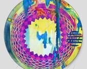 Round Mandala Dye Cut Sticker