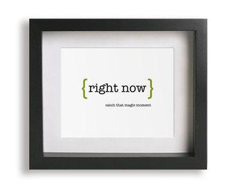 Right Now / Van Halen - Music Lyric Art Print - wall decor, wall art, gift idea, inspirational quote, office, dorm decor, graduation gift