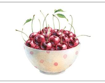 Bowl of Cherries - Birthday, Anniversary, Graduation, Any Day
