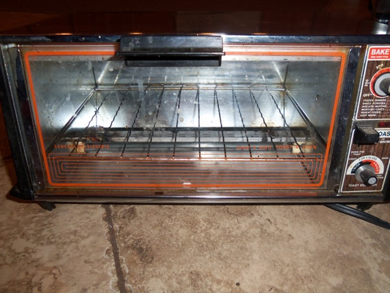 Old Ge Toaster Ovens ~ Vintage general electric ge toast r oven n broil toaster