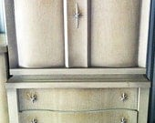 HOLD for Matt H. 07/15/13- Mid Century Modern Chest on Chest for Custom Finishing