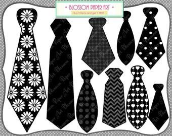 Ties - Digital Clipart - Printable - DIY Photo Booth Printables - Party Wedding Props - 1598