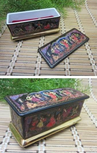 Music Box By Ardleigh Elliott Amp Sons 1991 Porcelain Russian