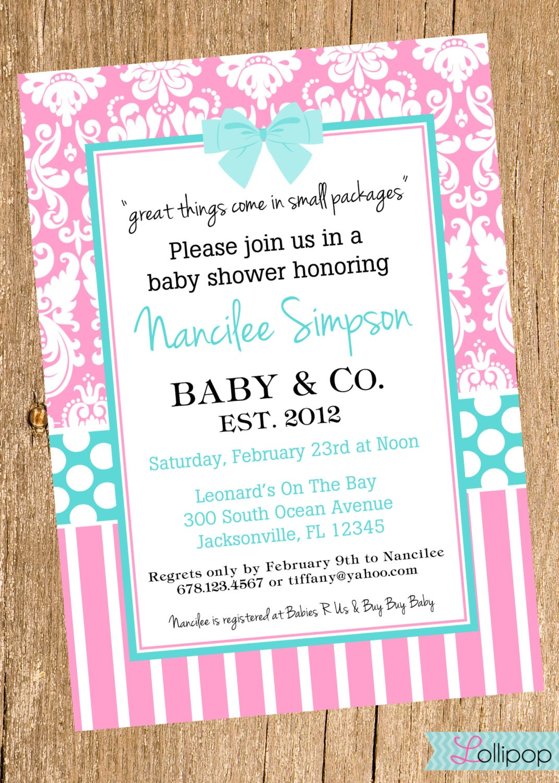 Tiffany Blue Shower Invitations was perfect invitations ideas