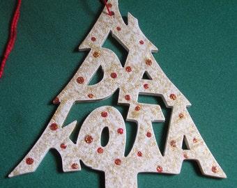 North Dakota, Tree shaped ornament