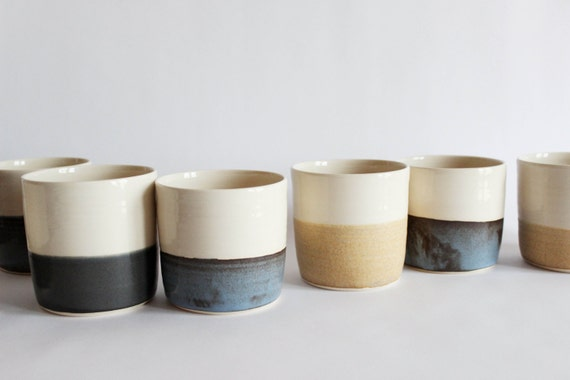 Horizon cup set, six pottery tumblers, if you are feeling adventurous.