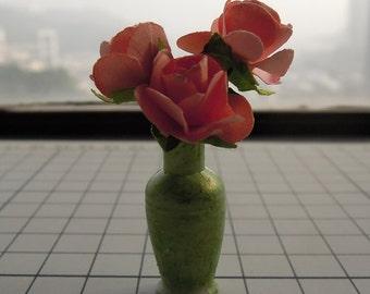 Shabby Dollhouse Miniature Vase