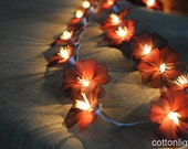 20 handmade flower string light home indoor party wedding gift decoration wall bedroom patio