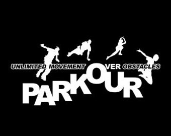 PARKOUR TSHIRT sports tshirt sports jersey mens tshirt kids tshirt funny tshirt cool tshirt (Also available on crewnecks and hoodies) SM-5XL
