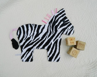 Wild About You Zebra Crinkle Snugglie