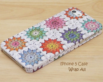 Floral Crochet Print iPhone SE case iPhone 6S case iPhone 6 case iPhone 6S Plus case iPhone 6 Plus case iPhone 5S case iPhone 4S case