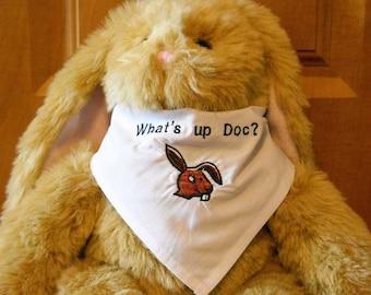Bunny Bandana  What's Up Doc   Bunny Scarf