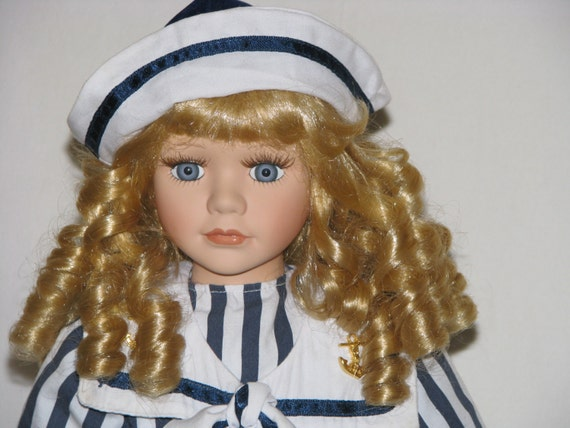items similar to collectible memories porcelain doll