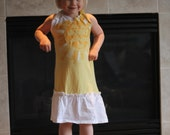 Upcycled Sunshine T-Shirt Dress