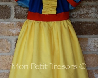 Snow White Dress - Size 2 to 5 years