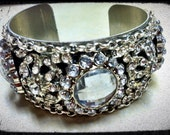 Crystal bling cuff No. 1